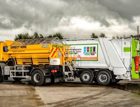 C.P. Davidson & Sons Ltd - Road Maintenance - RCV Hire