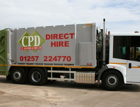 C.P. Davidson & Sons Ltd - RCV Hire